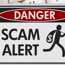Scam alert blog